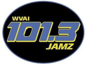 WVAI 101.3 JAMZ logo